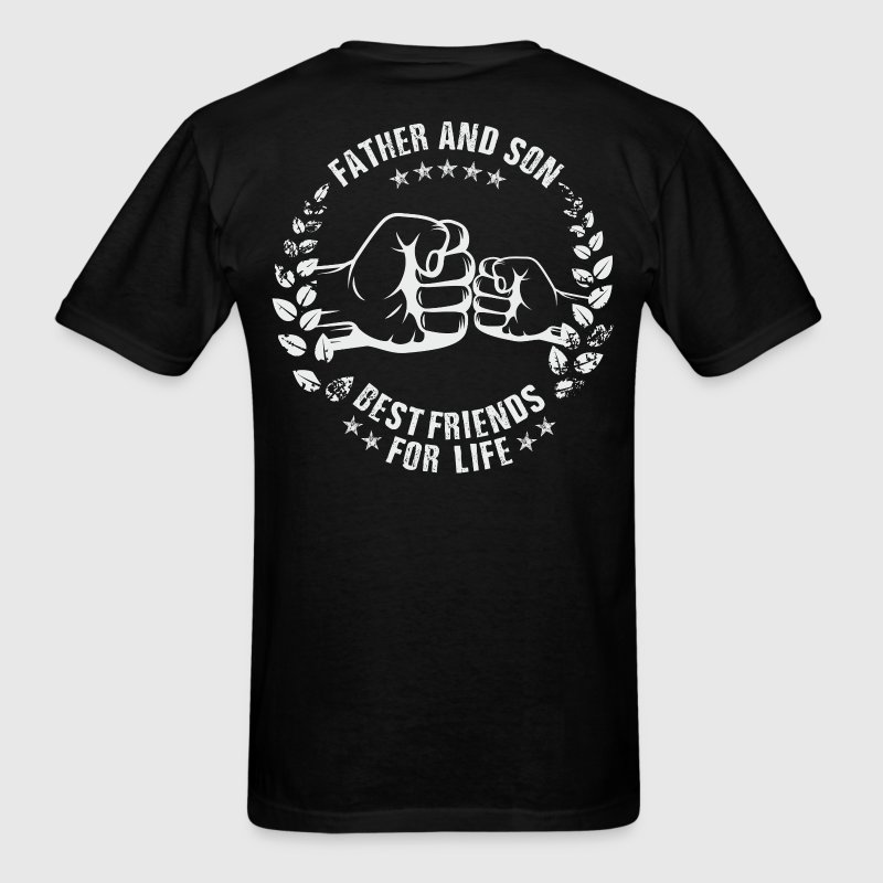 Father & Son best friends for life - Men's T-Shirt