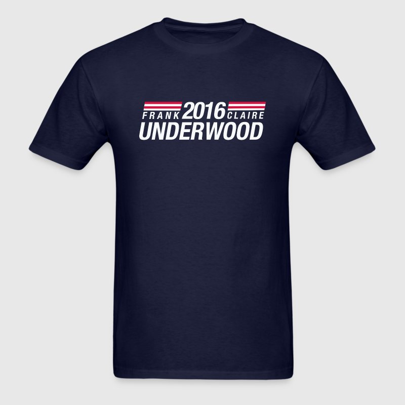 Frank Underwood and Claire Underwood 2016 - Men's T-Shirt