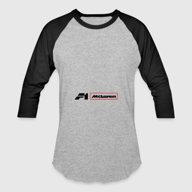 Mclaren F1 Team Logo - Baseball T-Shirt