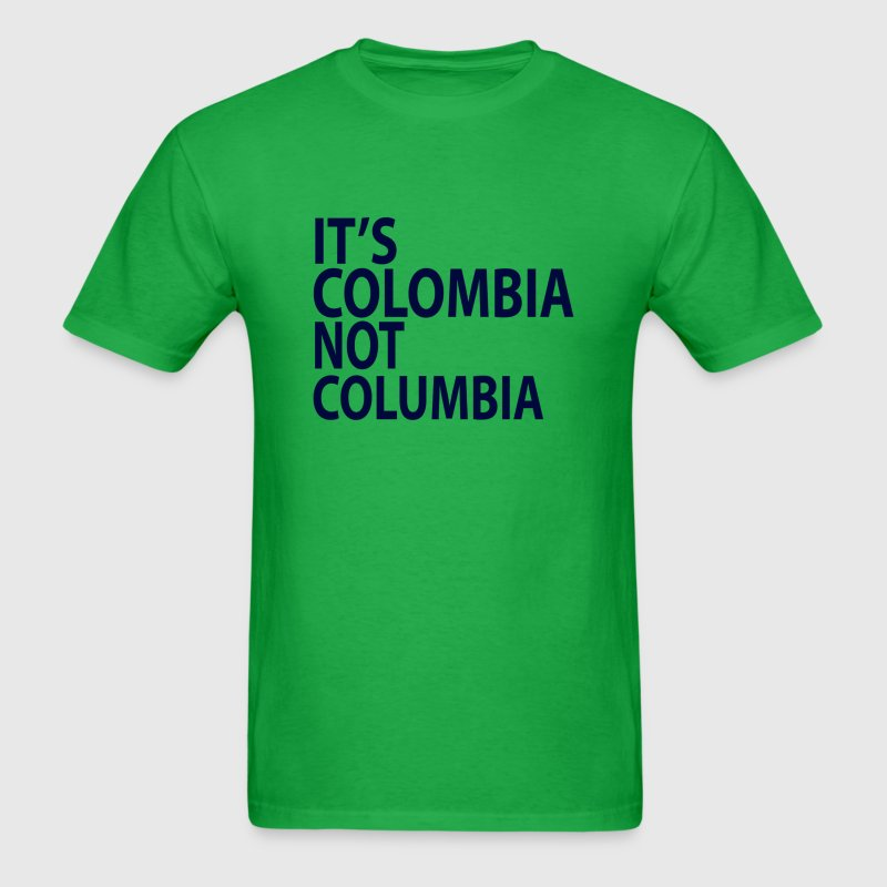 It's Colombia not Columbia - Men's T-Shirt