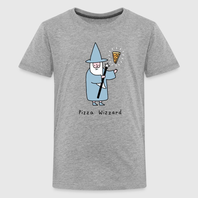 wizard pizza - Kids' Premium T-Shirt