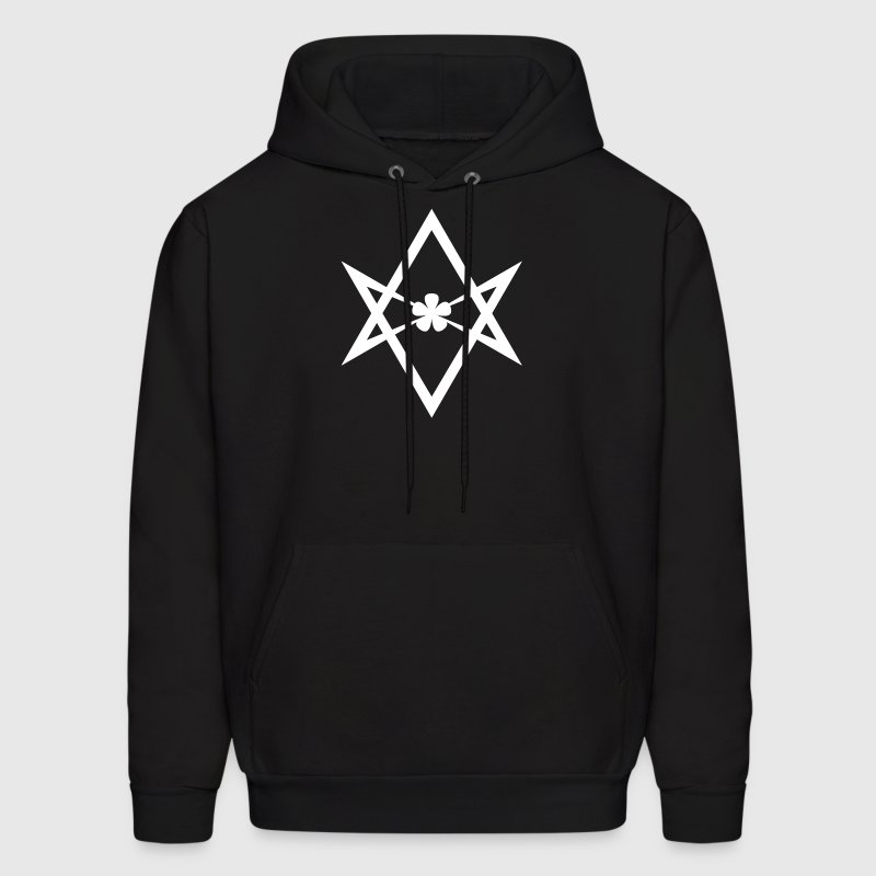 Aleister Crowley Unicursal Hexagram - Men's Hoodie