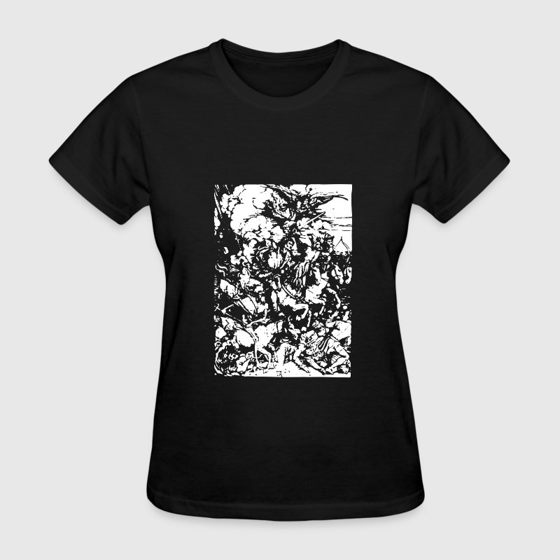 Four Horsemen of the Apocalypse 1497 - Women's T-Shirt