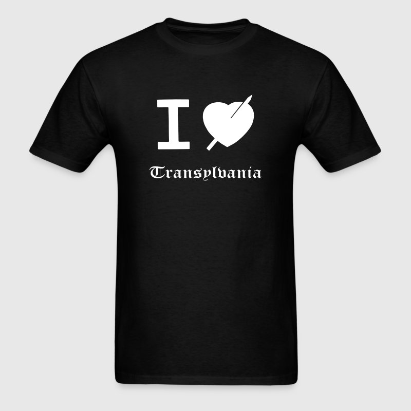 I Heart Transylvania - Men's T-Shirt