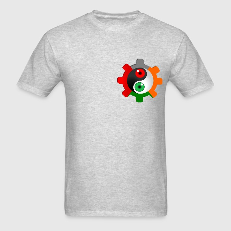 Yin Yang Eyeball Gear T-Shirts - Men's T-Shirt