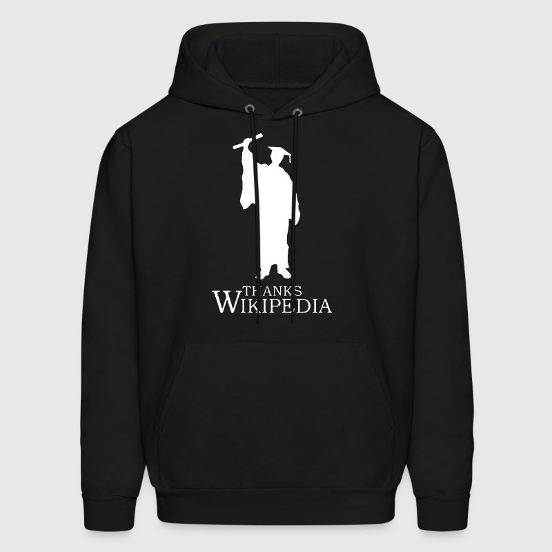 thanks wikipedia - Men's Hoodie