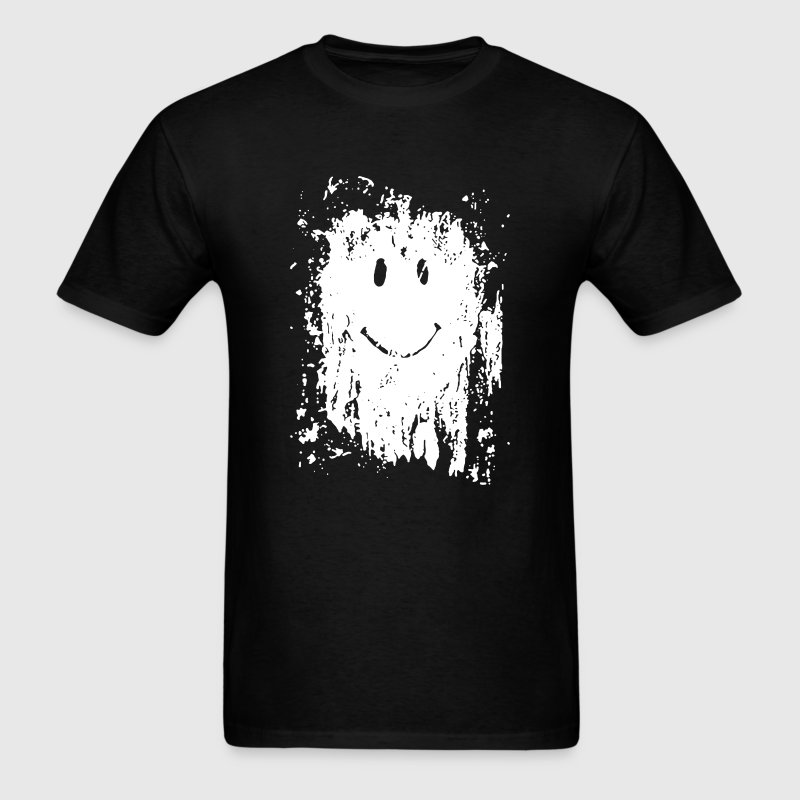 Mud Splatter Smiley Face - Men's T-Shirt