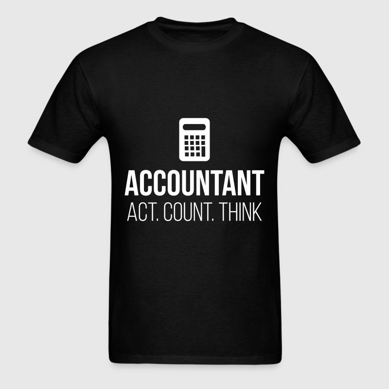 Act. Count. Think - Men's T-Shirt
