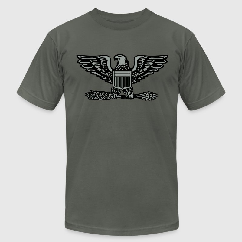 Colonel US Army Patch, Mision Militar ™ T-Shirts - Men's T-Shirt by American Apparel