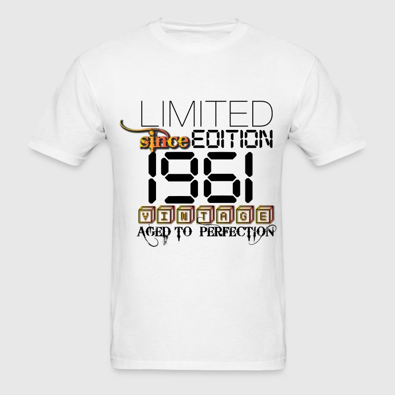 Limited Edition 1961 T-Shirts - Men's T-Shirt