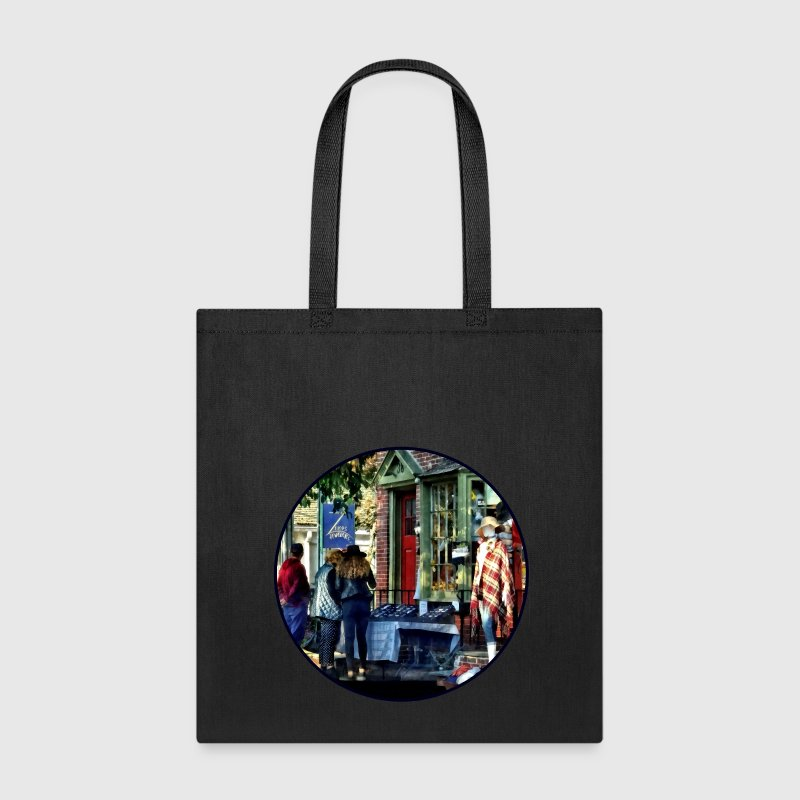 New Hope PA - Shopping Along Main Street Bags & backpacks - Tote Bag