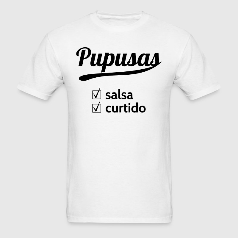 Dish Pupusas - Men's T-Shirt