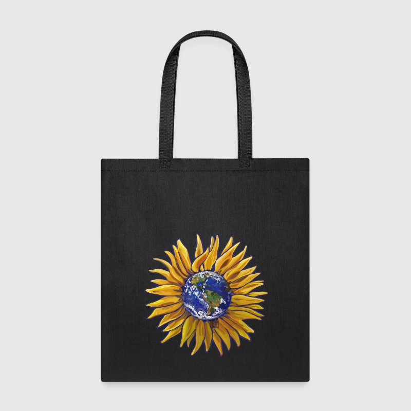 Sunflower Earth Tote - Tote Bag