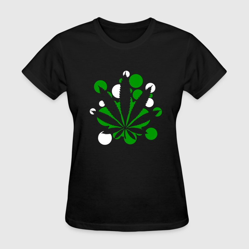 Weed Leaf Cannabis - Women's T-Shirt