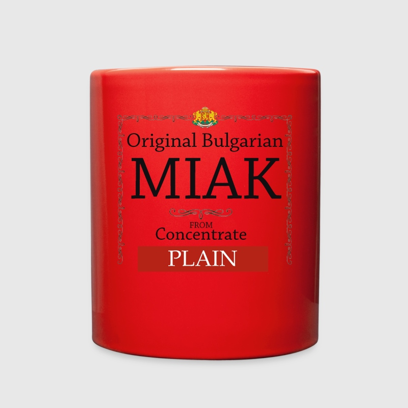 Authentic Bulgarian Miak - Full Color Mug