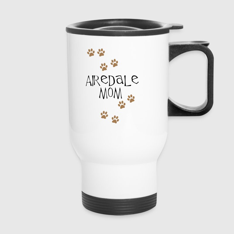 Airedale Mom - Travel Mug