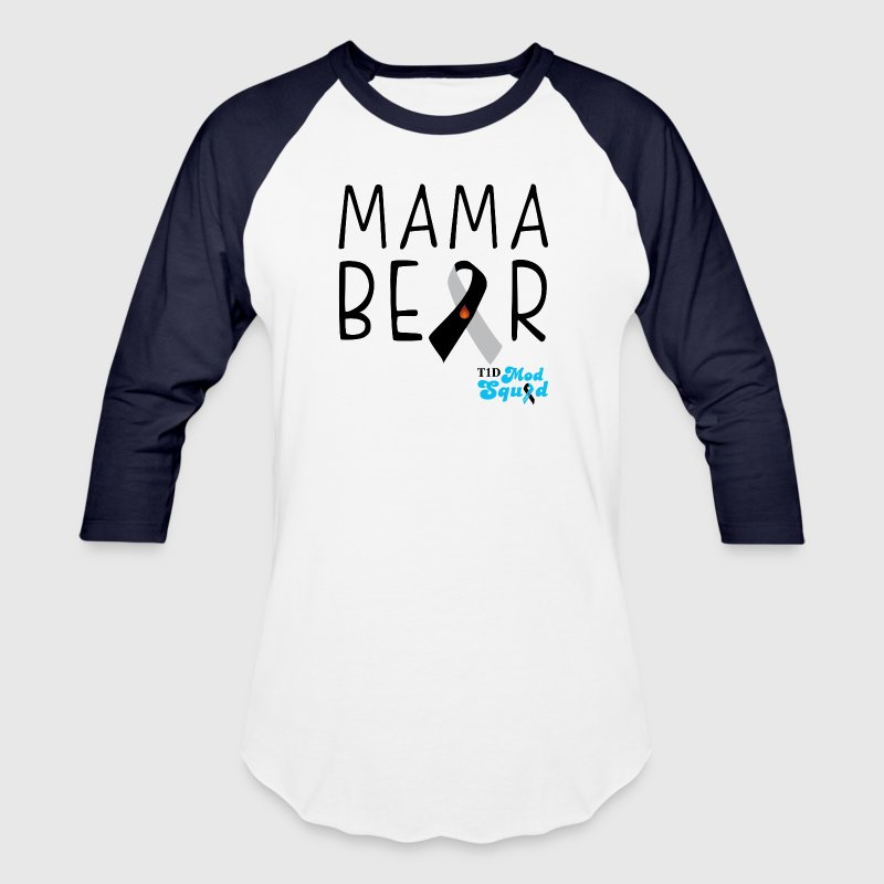 Mama Bear Black.png T-Shirts - Baseball T-Shirt
