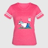 Cute Fat Unicorn T-Shirts - Women's Vintage Sport T-Shirt