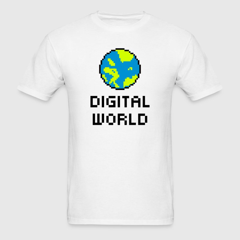 Digital World T-Shirts - Men's T-Shirt