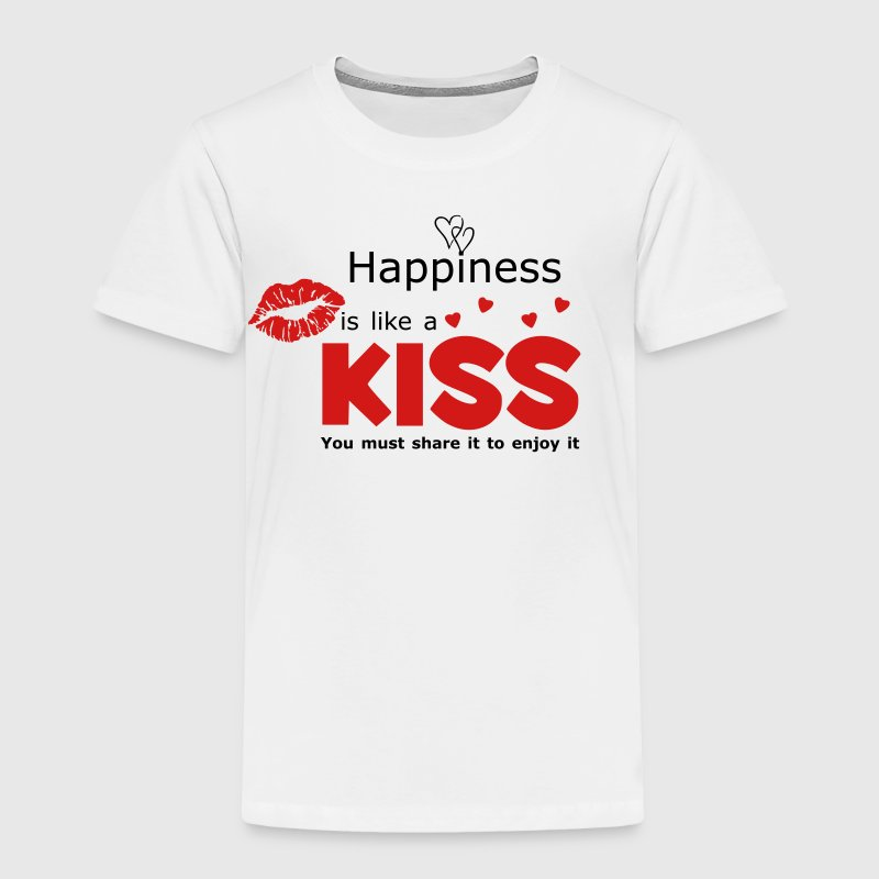 Happiness Quote Baby & Toddler Shirts - Toddler Premium T-Shirt