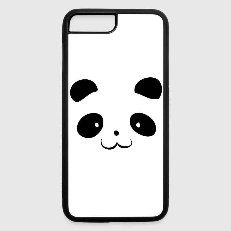 Panda Head Phone & Tablet Cases - iPhone 7 Plus Rubber Case