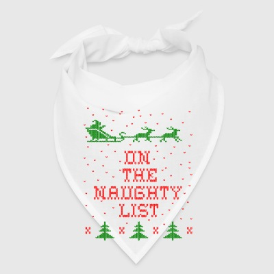 On the naughty list Mugs & Drinkware - Bandana