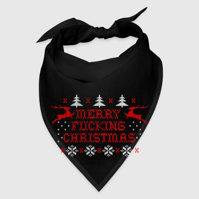 Merry Fucking Christmas Aprons - Bandana