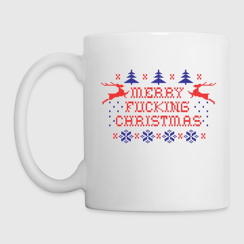 Merry Fucking Christmas Mugs & Drinkware - Coffee/Tea Mug