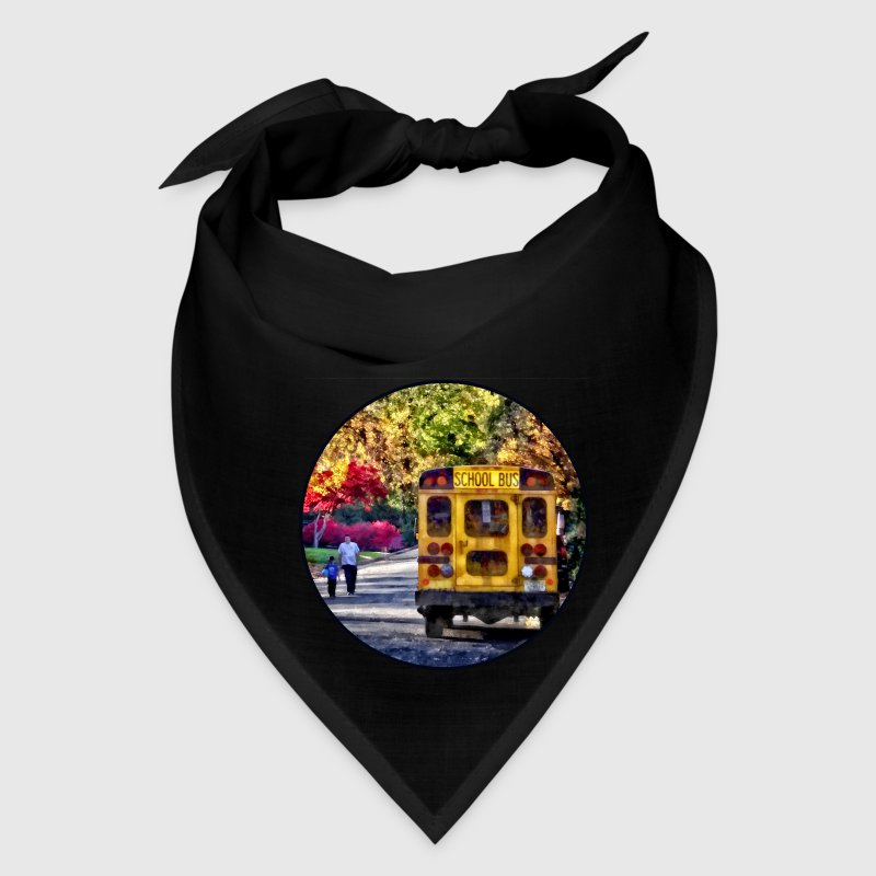 Back of School Bus Caps - Bandana