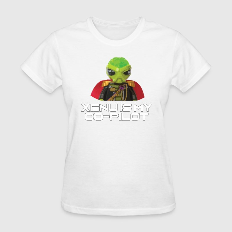 Xenu is my co-pilot T-Shirts - Women's T-Shirt