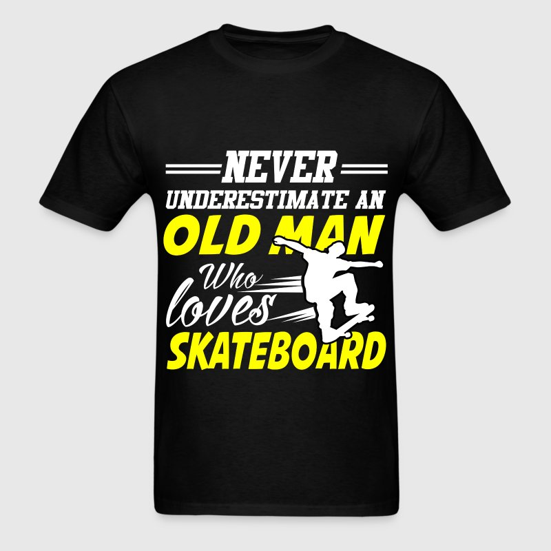 old man skateboard 111.png T-Shirts - Men's T-Shirt