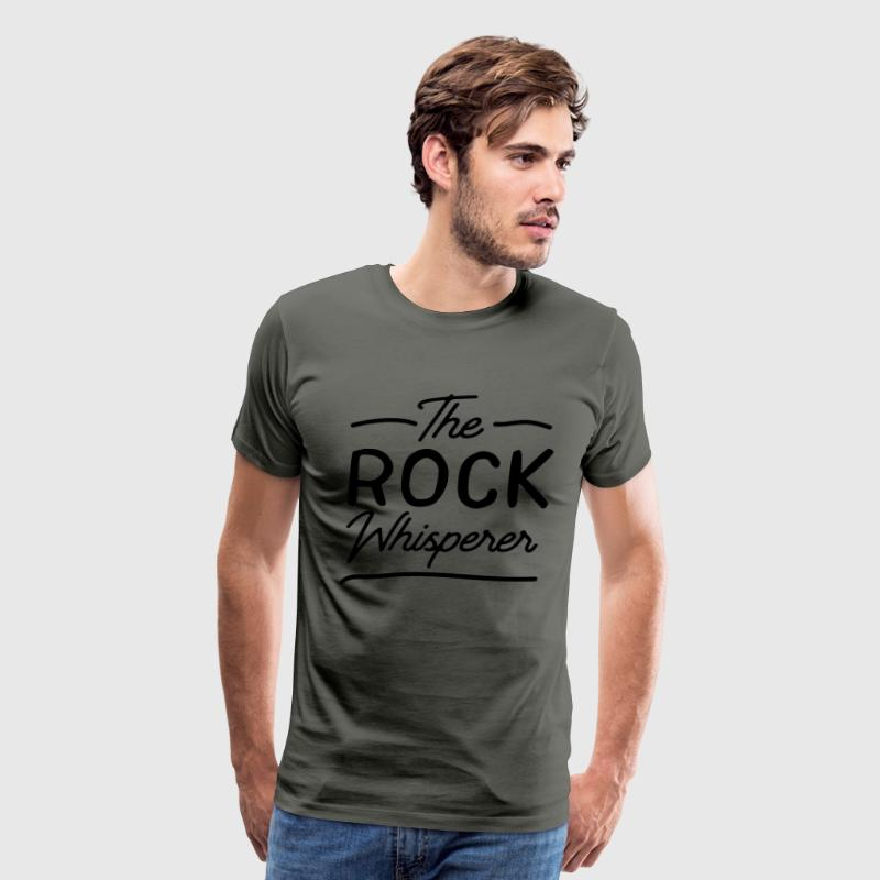 The rock whisperer T-Shirts - Men's Premium T-Shirt