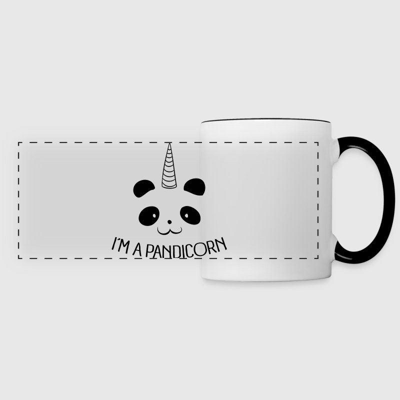 I'm a Pandicorn Mugs & Drinkware - Panoramic Mug