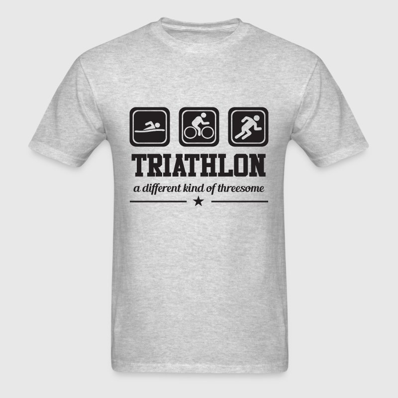 Triathlon - Threesome T-Shirts - Men's T-Shirt