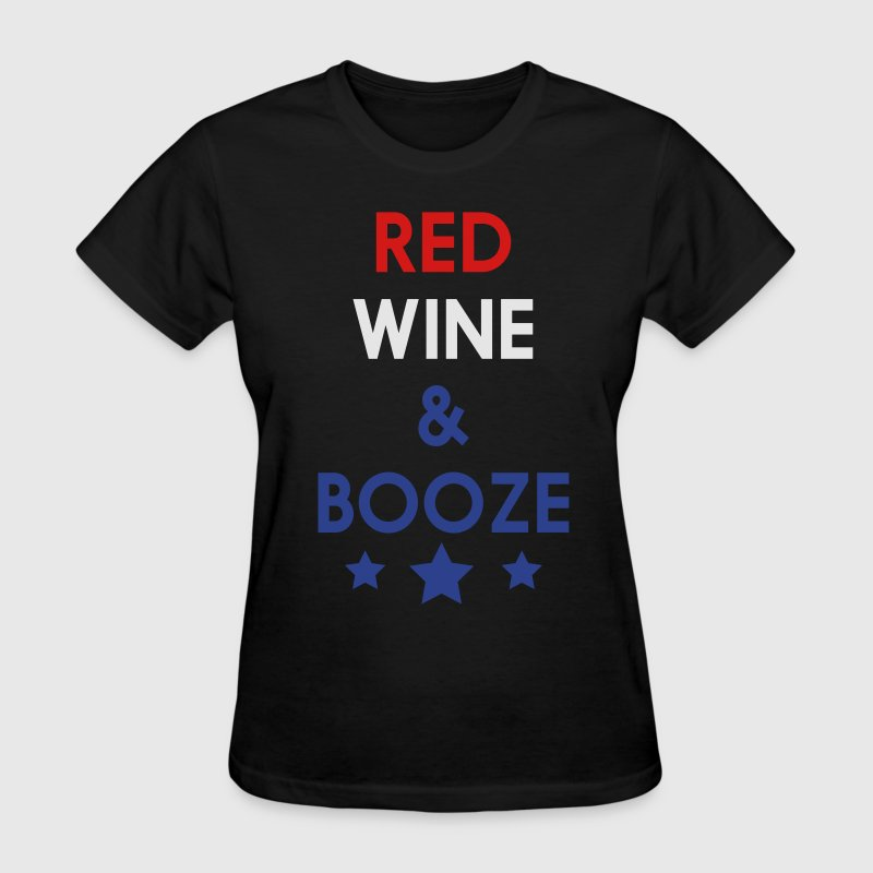 Red, Wine & Booze T-Shirts - Women's T-Shirt