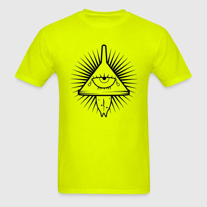 Illuminati insane logo t shirt spreadshirt for Safety t shirt logos