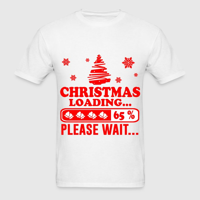 christmas loading 3.png T-Shirts - Men's T-Shirt