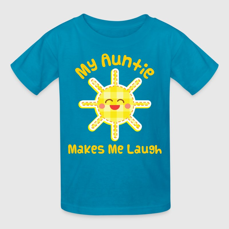 Aunt Gift Auntie Cute Kids' Shirts - Kids' T-Shirt