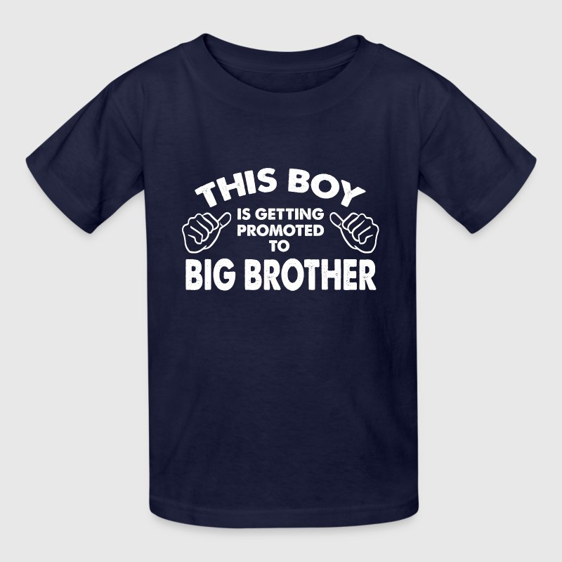 Family-This Boy Is Getting Promoted To Big Brother Kids' Shirts - Kids' T-Shirt