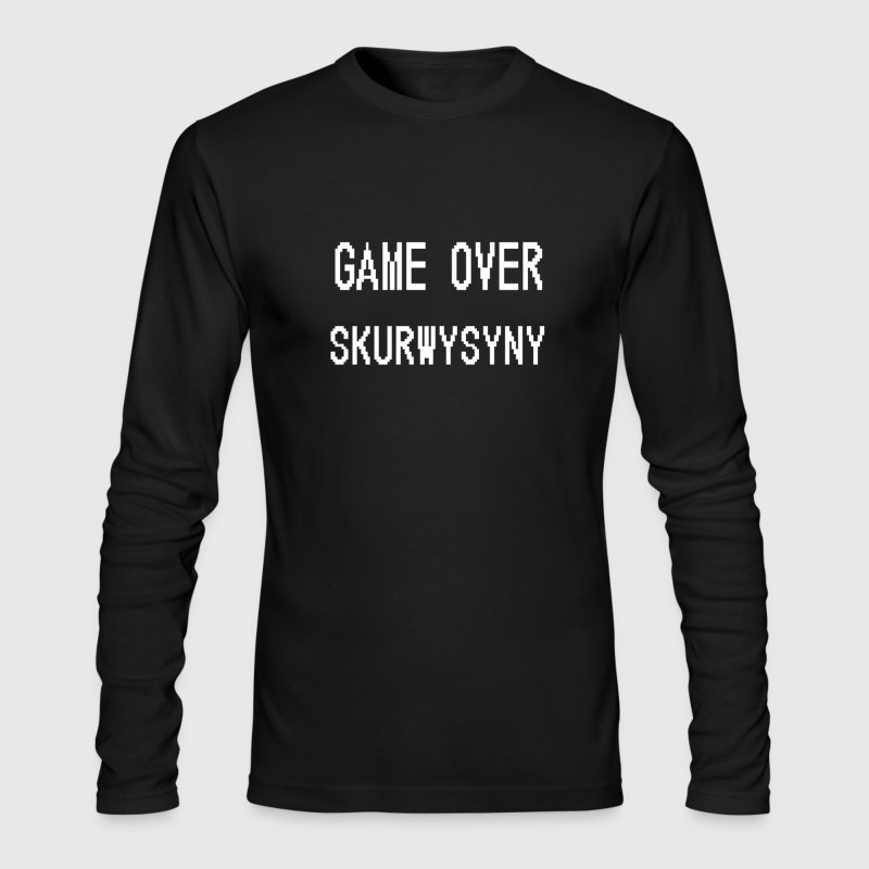 Game Over Skurwysyny - Men's Long Sleeve T-Shirt by Next Level