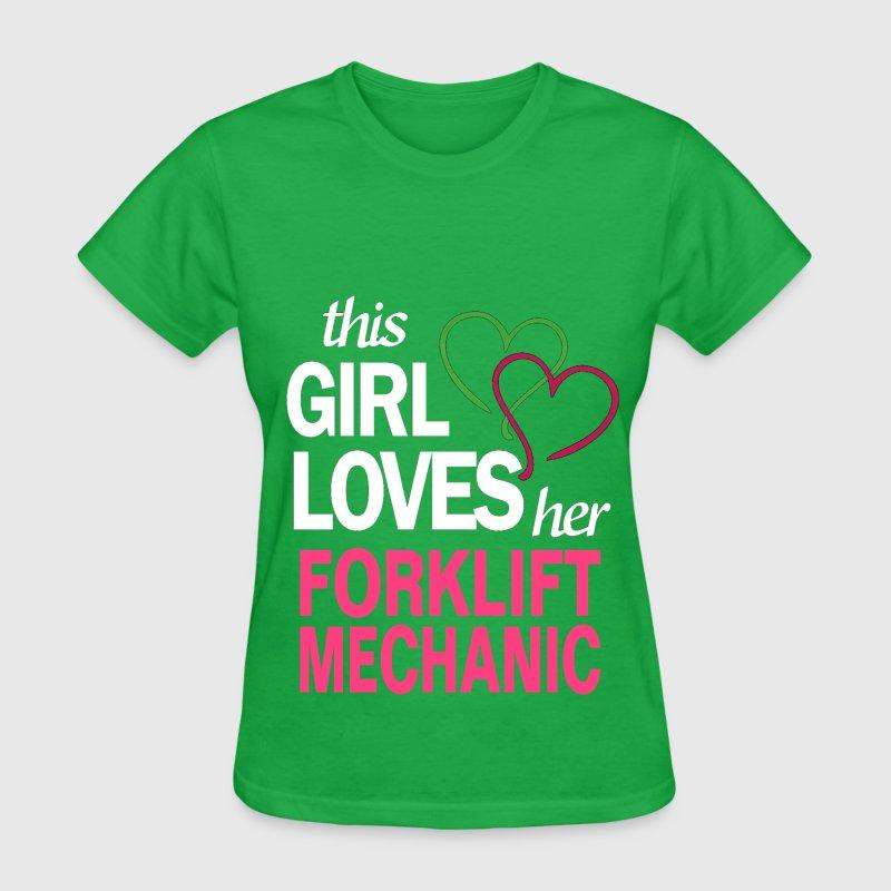 This Girl Loves Her FORKLIFT MECHANIC TShirt Spreadshirt - Forklift mechanic