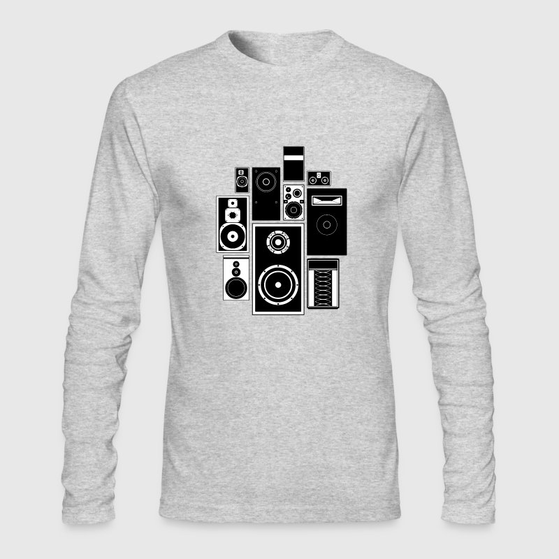 Wall of Sound - Men's Long Sleeve T-Shirt by Next Level