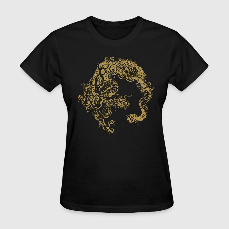 Japanese traditional dragon - Women's T-Shirt