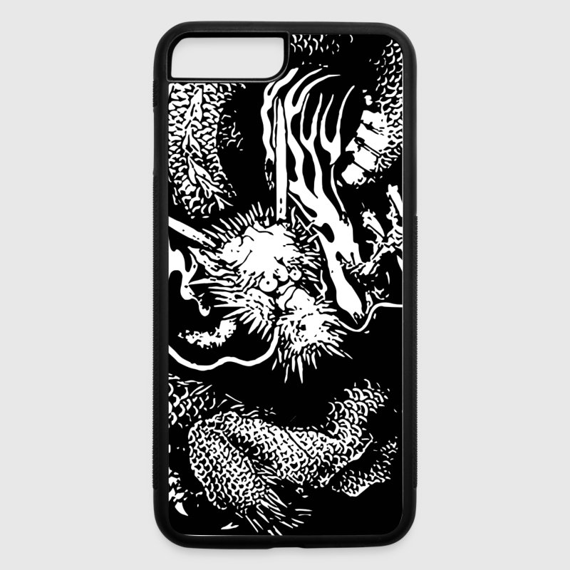 Japanese dragon Phone & Tablet Cases - iPhone 7 Plus/8 Plus Rubber Case