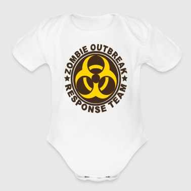 ZOMBIE RESPONSE TEAM - Short Sleeve Baby Bodysuit