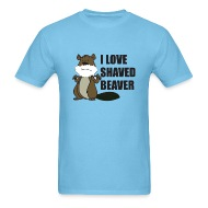Brown beaver shaved