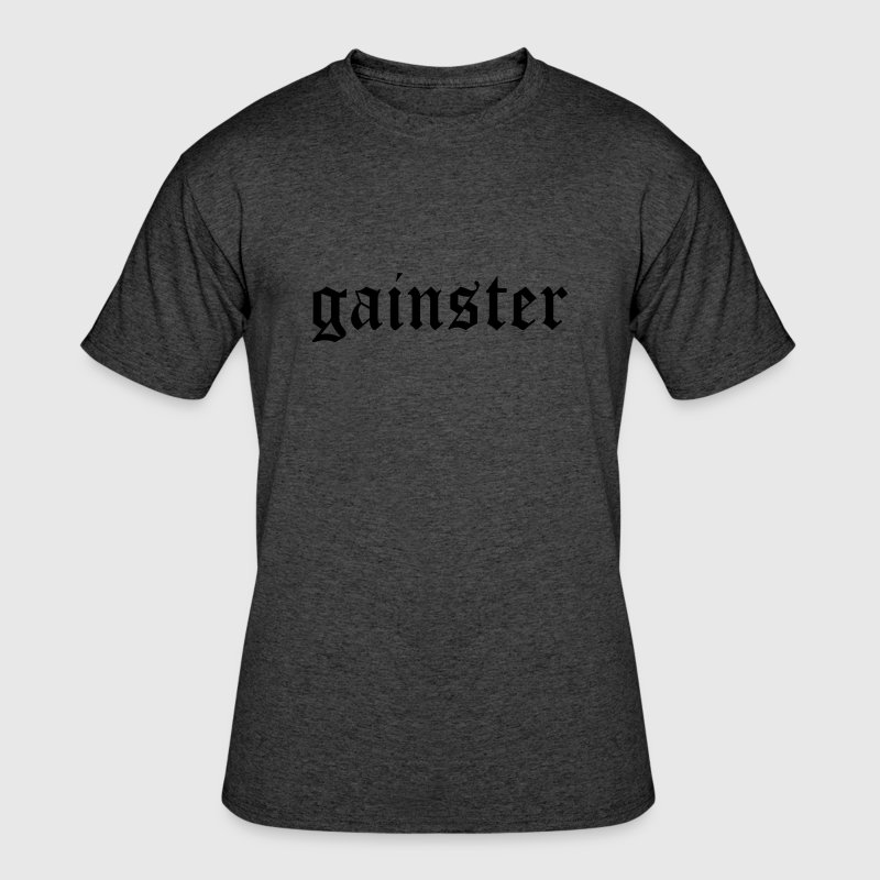 Gainster | Funny Workout Motivation T-Shirts - Men's 50/50 T-Shirt
