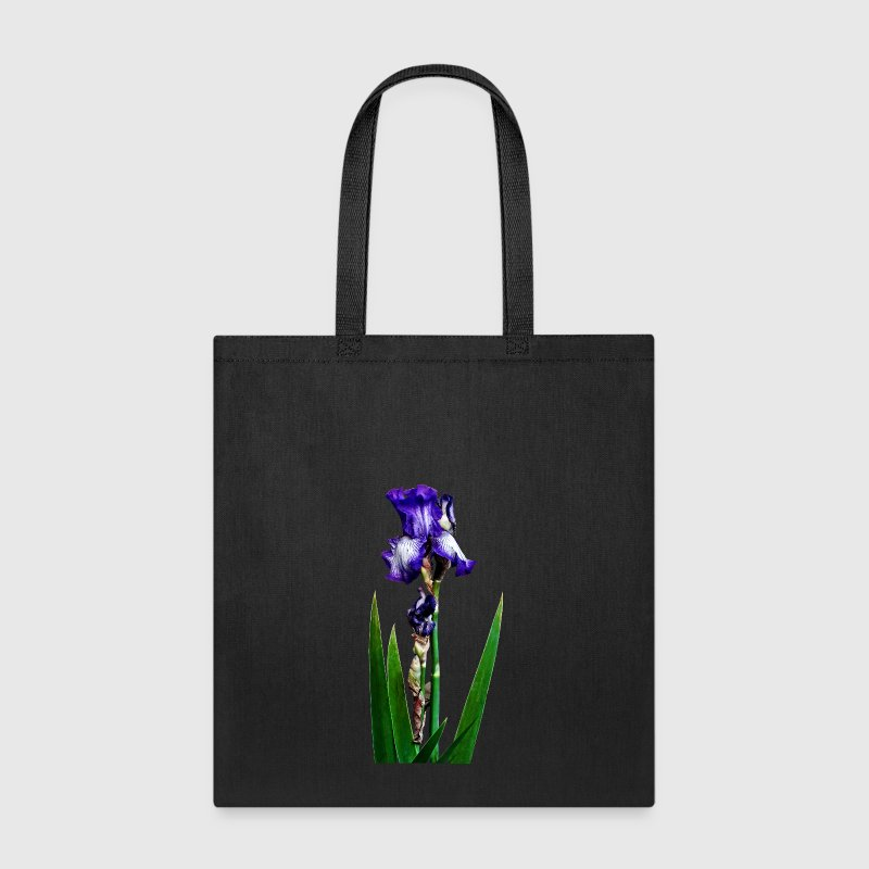 Lovely Purple Iris Bags & backpacks - Tote Bag