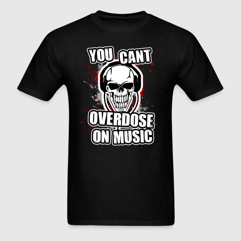 Music Overdose. T-Shirts - Men's T-Shirt