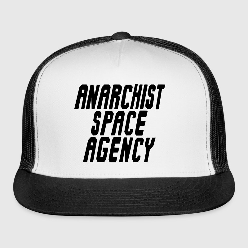 Anarchist Space Agency Snapback Trucker Hat - Trucker Cap